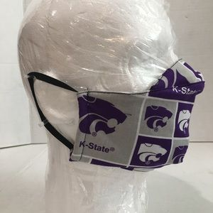 K-State Cotton Face Cover, K-State Face Shield.